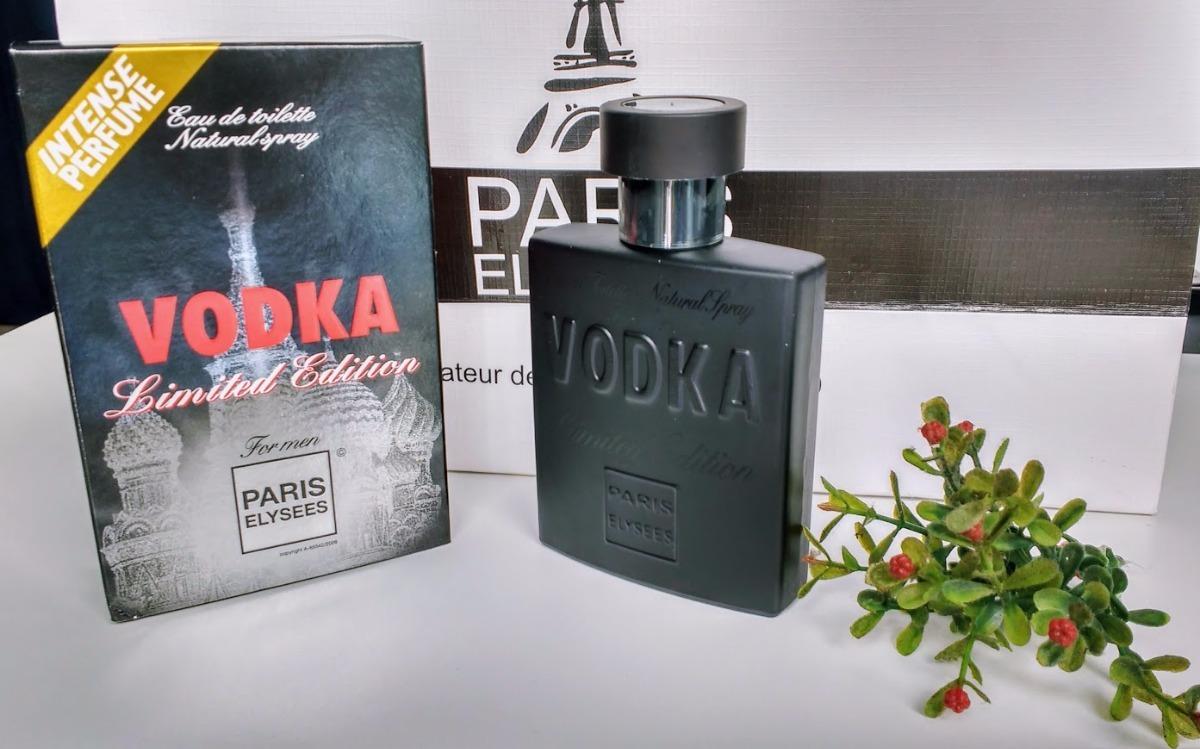 492d0a04fd paris elysees vodka limited edition masculino edt 100ml. Carregando zoom.