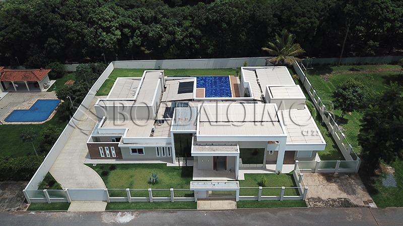 park way, casa com 1200m², 04 suítes, habite-se! - villa83279