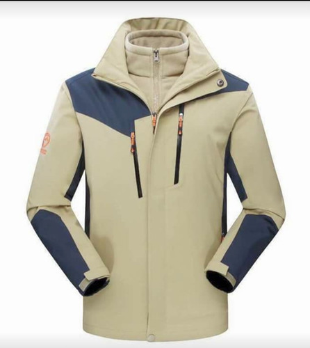 parka chaqueta outdoor trekking montaña impermeable hombre
