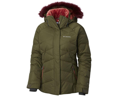 parka columbia lay d down ii verde
