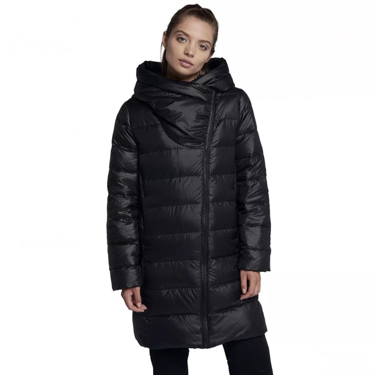 Mujer 00 799 2 Parka Pluma Fill Negro Down Campera Nike Jacket wqgqavUI