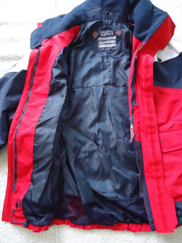 parka outdoor crystal waters hombre talla l