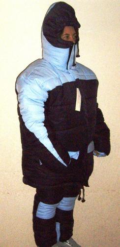 parka suit chaqueta pantalon termicos nieve alta montaña mdn