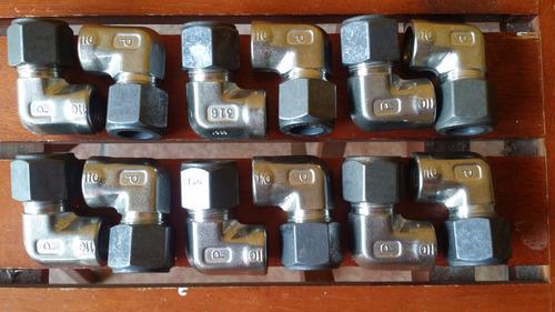 parker 8-4 dbz codo hembra de 1/2 od x 1/4 npt
