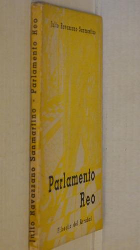 parlamento reo julio ravazzano sanmartino