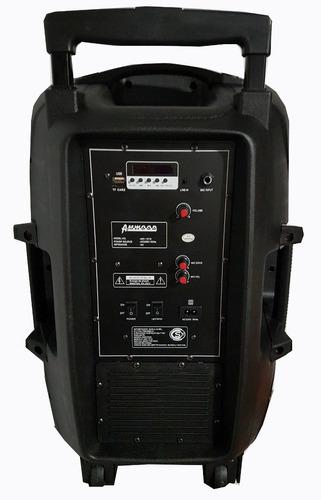 parlante 15 portatil recargable bluetooth potencia 10.000w