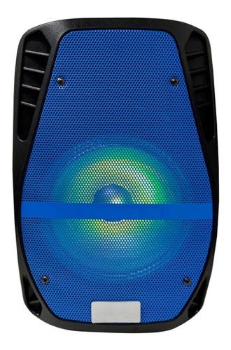 parlante 8 activo luz led bateria portatil futuro21 dimm