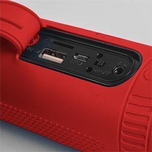 parlante active outdoor kolke bt 5 en 1 kop-016 color rojo