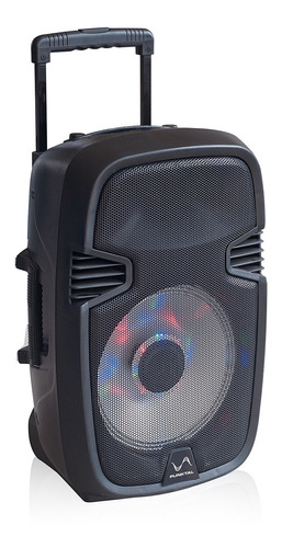 parlante activo punktal 15'' karaoke + microfono inalambrico