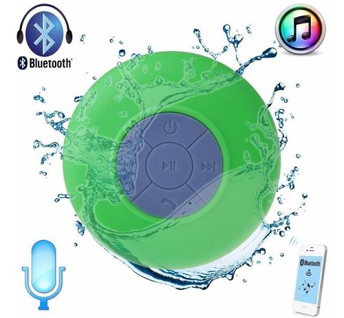 parlante acuatico bluetooth manos libres microfono ducha
