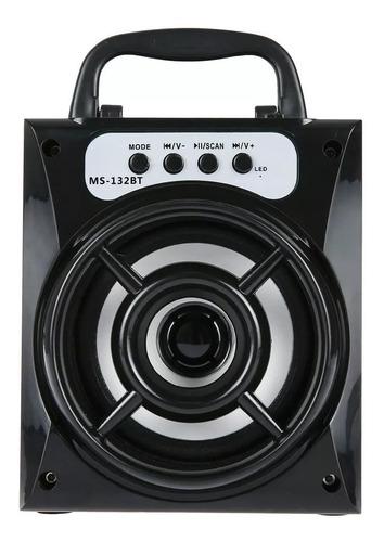 parlante altavoz bluetooth radio portatil ms