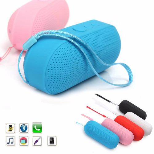 parlante  altavoz portátil bluetooth usb microsd  mini pill