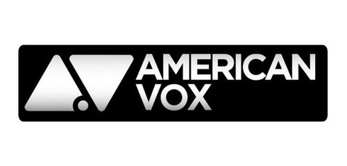 parlante american vox av 805 woofer 8 200watts 98db 8ohms