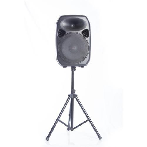 parlante amplificado bluetooth, fm, mp3 y micrófono 15 pulg.