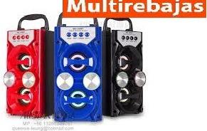 parlante amplificador bluetooth recargable fm micro sd e usb
