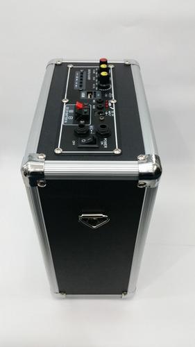 parlante amplificador karaoke usb/sd/fm/mic/battery