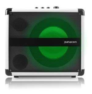 parlante bafle portatil bluetooth usb panacom sp3315 blanco