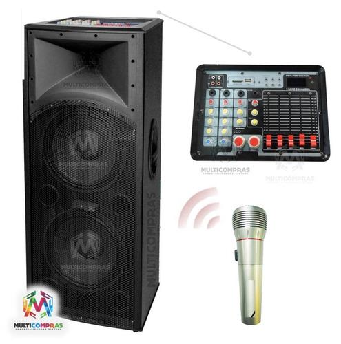 parlante bafle sonido profesional  eventos karaoke