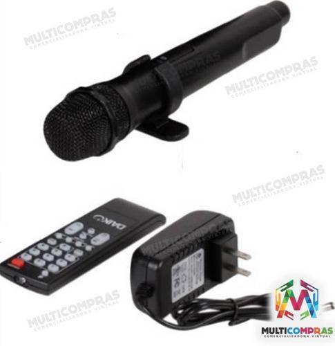 parlante bafle sonido  recargable camping karaoke portatil