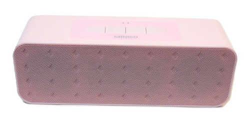 parlante bluetooth 4.1 portable miniso life d-82b japones sd