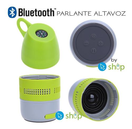 parlante bluetooth altavoz inalámbrico tomatodo mp3 microsd