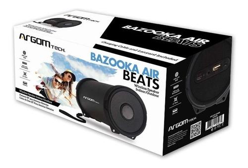 parlante bluetooth, argom bazooka air beats garantía 1año