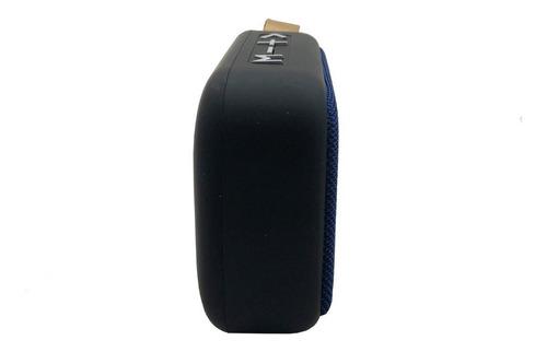 parlante bluetooth con tela entrada usb y tf card con cable