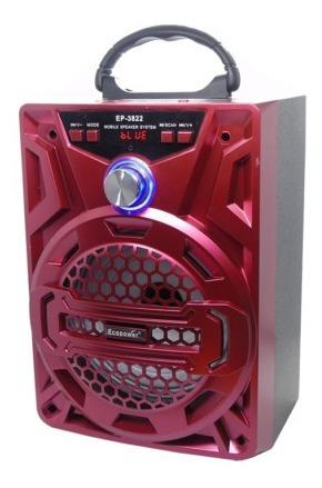 parlante bluetooth ecopower usb microfono nuevos!!!