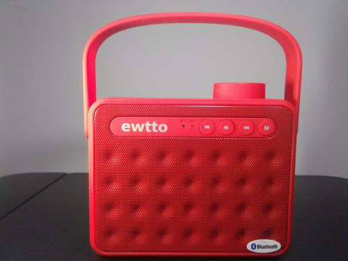 parlante bluetooth ewtto inalambrico handsfree portatil