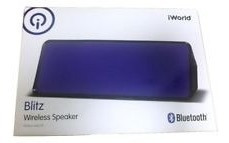 parlante bluetooth iworld, blitz wireless speaker. nuevos