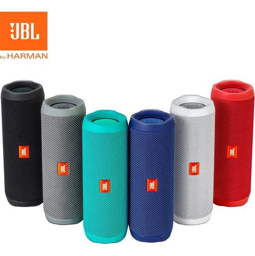 parlante bluetooth jbl flip 4 sumergible sellado / garantía