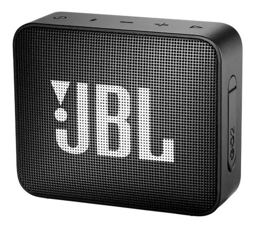 parlante bluetooth jbl go 2 black
