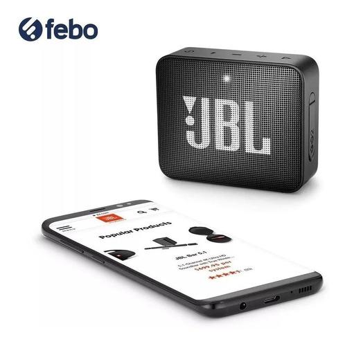 parlante bluetooth jbl go 2 portátil potencia calidad febo