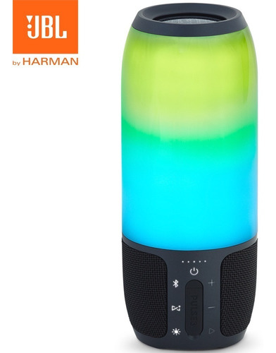 parlante bluetooth jbl pulse 3 luces led sumergible sellado