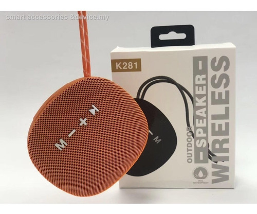 parlante bluetooth k281 sd usb radio fm outdoor