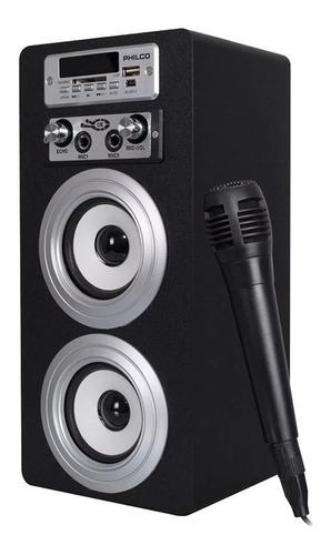 parlante bluetooth karaoke 757  10w - aux - fm - usb con mic