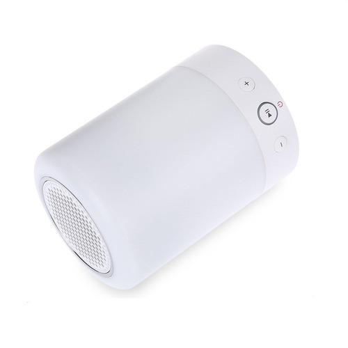 parlante bluetooth luces led colores lampara fm microsd mp3