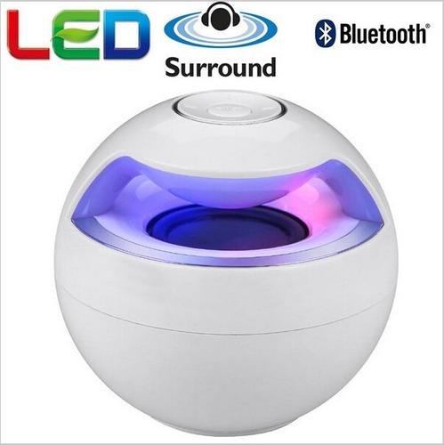 parlante bluetooth luces led/mp3 /usb para todos celulares