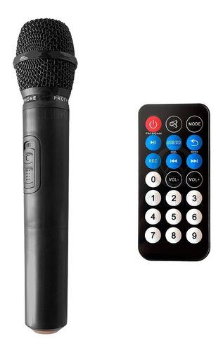 parlante bluetooth máxima potencia mic inalámbrico + tripode