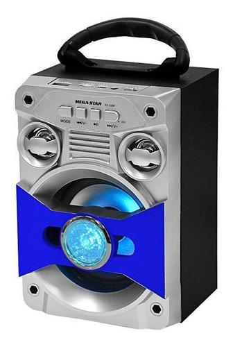parlante bluetooth megastar usb/fm bateria nuevos!!!