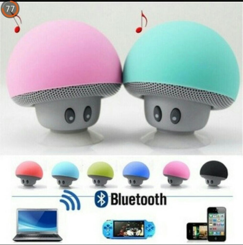 parlante bluetooth mini hongo