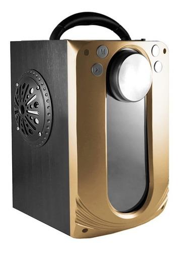parlante bluetooth multimedia potenciado luces led premium