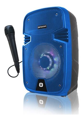 parlante bluetooth panacom sp 3108 con microfono recargable