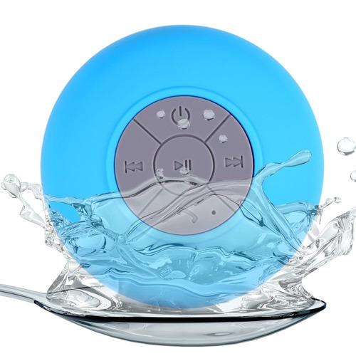 parlante bluetooth portatil a prueva de agua con microfono