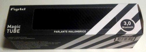 parlante bluetooth portátil c/bateria magic tube inalámbrico