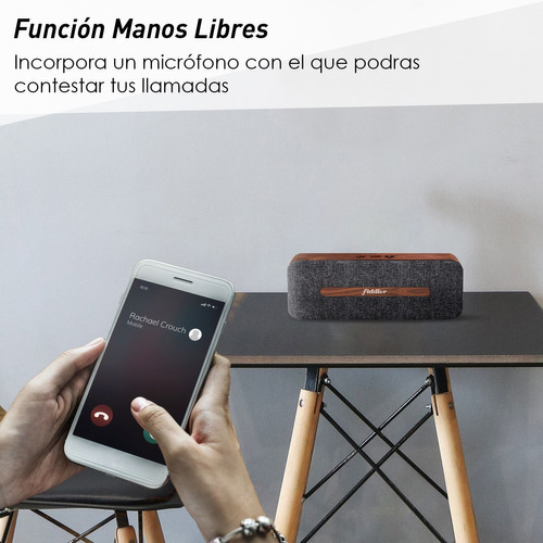 parlante bluetooth portátil fiddler the duke fd-201