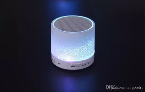 parlante bluetooth portatil inalambrico luces radio