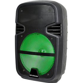 Parlante Bluetooth Portátil Radio Usb Mp3 Leds 1500 Watts