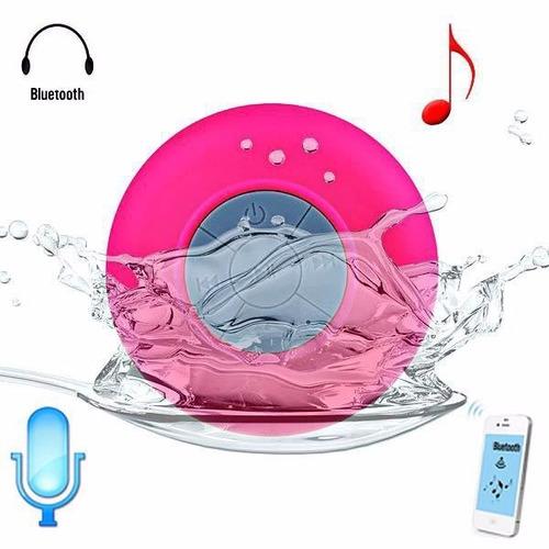 parlante bluetooth portatil resistente al agua con microfono