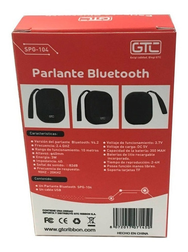 parlante bluetooth portatil speaker xtreme manos libres t